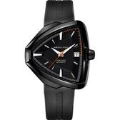Hamilton漢米爾頓 VENTURA Elvis80 貓王80週年機械錶-黑/42mm H24585331