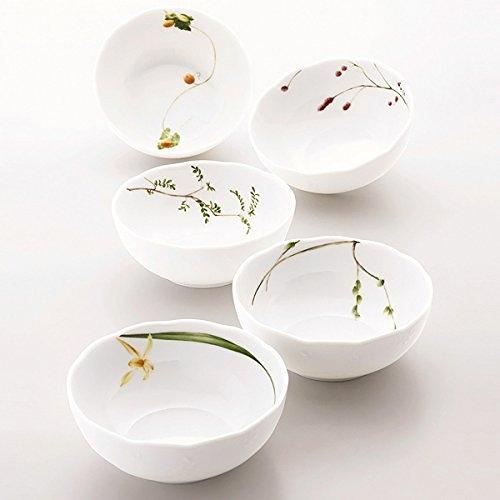 【日本代購】NARUMI里花暦餐碗组(13cm)
