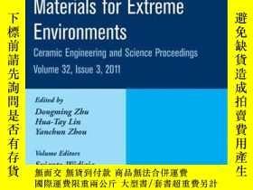 二手書博民逛書店Advanced罕見Ceramic Coatings and Materials for Extreme Envi