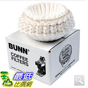 [104 現貨] 12杯咖啡機用圓形濾紙250入 Bunn Flat Bottom Coffee Filters  BUN BCF250 C117098_U30