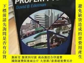 二手書博民逛書店Statistics罕見for property peopleY