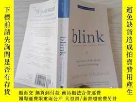 二手書博民逛書店blink罕見by the author of THE TIPP