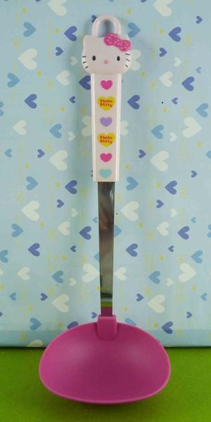 【震撼精品百貨】Hello Kitty 凱蒂貓~湯杓~臉心【共1款】