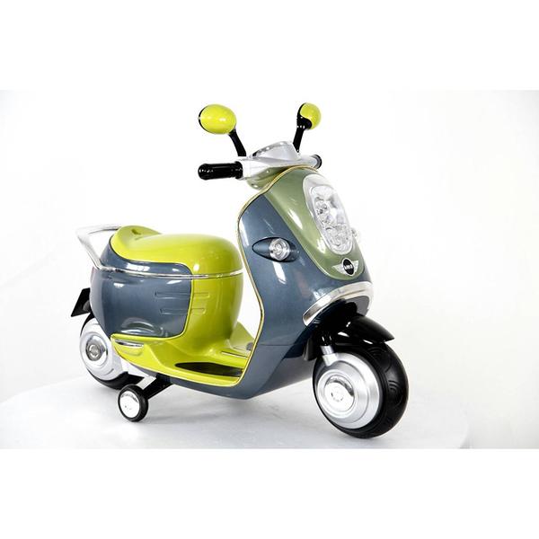 中華批發網-HWS-MV-W388 馬克文生 兒童電動機車-BMW MINI E-SCOOTER 兒童摩托車(兩色可選)