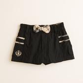 【金安德森】KA素色格紋蝴蝶結褲裙