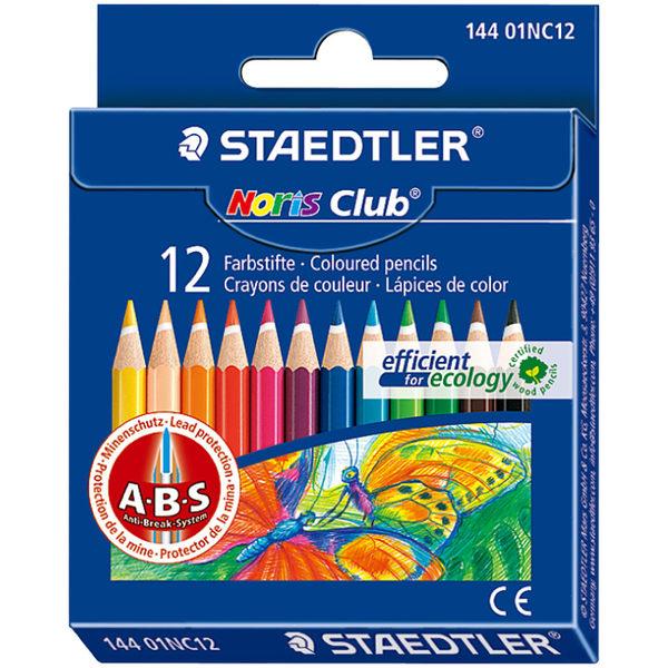 施德樓 MS14401快樂學園 迷你油性色鉛筆12色組