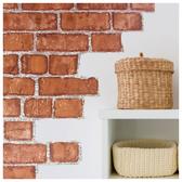 材質壁貼 壁紙 紅磚 NITORI宜得利家居