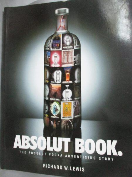 【書寶二手書T8/設計_ZJQ】Absolut Book_Richard W. Lewis