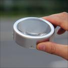 交換禮物臺式便攜放大鏡LED帶燈6.5倍 地圖高清閱讀桌面放大鏡 鎮紙放大鏡