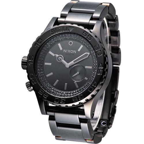 NIXON 搖滾閃動率性腕錶 A0351150