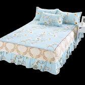 床罩席夢思床罩床裙式床套單件防塵保護套1.5米1.8m床單床墊床笠防滑【快速出貨】