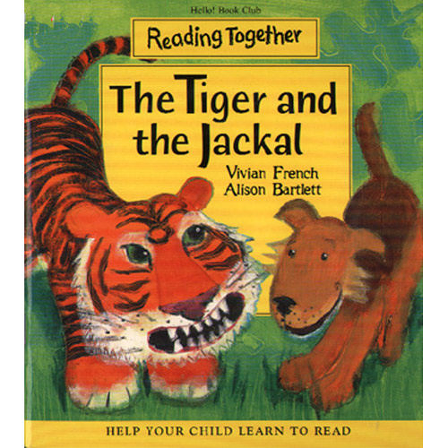【Reading Together】The Tiger and the Jackal(1Book + 1CD)