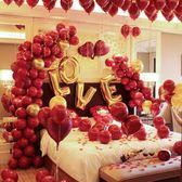 浪漫婚房布置用品結婚墻禮新婚慶創意臥室鋁膜氣球新房布置裝飾
