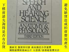 二手書博民逛書店SPEECH罕見AND HEARING SCIENCE 英文原版