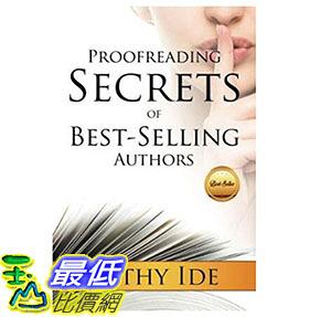 [美國直購] 暢銷書 Proofreading Secrets of Best-Selling Authors Paperback 1938499344