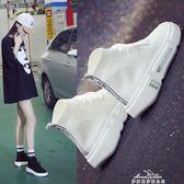 襪子鞋女新款百搭韓版街舞嘻哈女鞋子潮時尚學生高筒鞋女 『夢娜麗莎精品館』