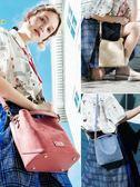 側背包 歐時納包包女新款春季手提包大容量單肩斜挎包韓版百搭水桶包 星河光年DF