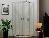 【麗室衛浴】美國KOHLER STANCE系列 K-37466T-L  圆弧型對推門 100*100*H190CM