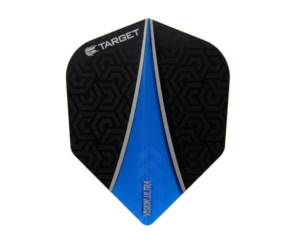 【TARGET】VISION ULTRA SHAPE Black x Blue 331030 鏢翼 DARTS