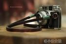 法國8mm手工制作相機背帶頭層牛皮復古微單繩肩帶單反掛繩 洛小仙女鞋