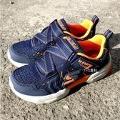 《7+1童鞋》 SKECHERS 97842LNVOR 輕量透氣 運動鞋 慢跑鞋 B993 藍色