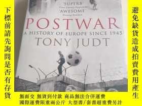 二手書博民逛書店Postwar:A罕見History of Europe Sin