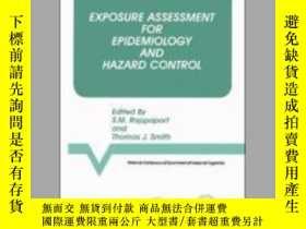 二手書博民逛書店Exposure罕見Assessment for Epidemiology and Hazard Control-