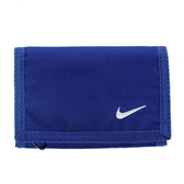 Nike Basic Wallet [NIA08413NS] 運動 錢包 皮夾 方便 收納 輕巧 實用 魔鬼氈 深藍