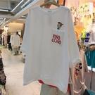 棉質娃娃刺繡T桖上衣-大尺碼 獨具衣格 J3677
