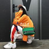 日本雜志附送手提單肩斜背包簡約男女托特包可調節背帶ins同款『伊莎公主』