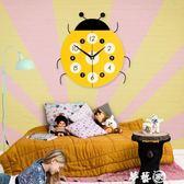 掛鐘 卡通式鐘錶客廳掛鐘現代簡約創意時尚靜音時鐘中式兒童臥室裝飾鐘 igo 夢藝家