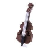 【日本 Kawada 河田】Nanoblock 迷你積木 低音提琴 NBC-149