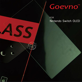 Goevno Nintendo Switch OLED 玻璃貼 鋼化膜 9H硬度 非滿版 保護貼