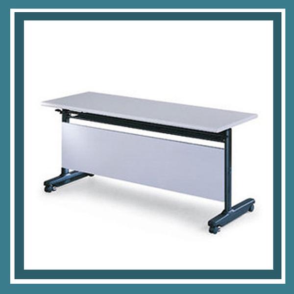 【必購網OA辦公傢俱】PUT-1560G  灰色折合式會議桌