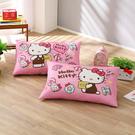 鴻宇 防蹣枕套2入 日本抗菌Hello Kitty 美國棉授權品牌 台灣製 多款任選