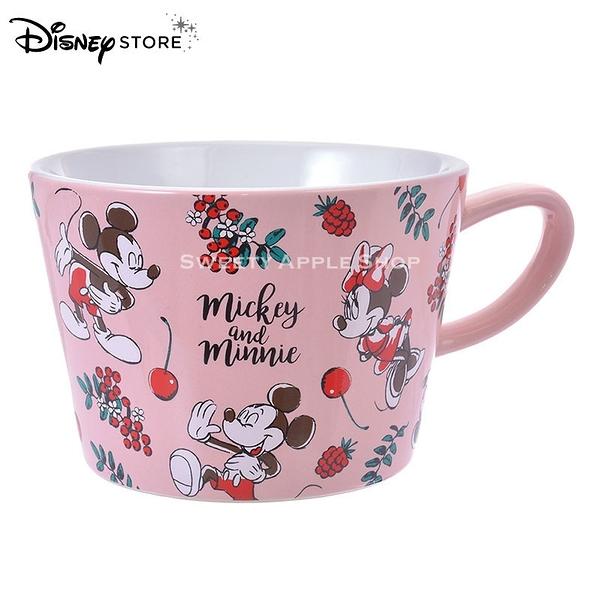 日本 DISNEY STORE 迪士尼商店限定 米奇&米妮 素描版 馬克杯
