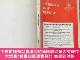 二手書博民逛書店ALBERTA罕見LAW REVIEW 1987.1Y4615 ALBERTA LAW FOUNDATION