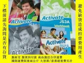 二手書博民逛書店Longman罕見Activate JS3A(一套四本)Y255896 朗文 朗文 出版2019