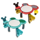 迪士尼兒童遊戲桌(一桌一椅)磁力桌面 米奇積木桌