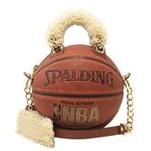 Andrea Bergart 牛皮X羊毛手提肩背2way NBA復古籃球包 【BRAND OFF】