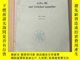 二手書博民逛書店modern罕見filter design active RC and switched capacitor(P3