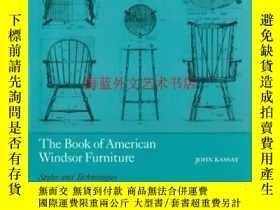 二手書博民逛書店The罕見Book of American Windsor Furniture: Styles and Techn
