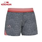 [EiDER] 女排汗透氣抗UV彈性超短褲 - 黑 (6EIV3552-7673)