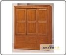 {{ 海中天休閒傢俱廣場 }} G-35 摩登時尚 臥室系列 160-2 蘇格蘭檜木實木6x7尺衣櫥