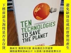 二手書博民逛書店Ten罕見Technologies to Save the Pl