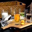酒杯 玻璃杯子套裝水杯果汁啤酒杯牛奶喝水杯耐熱泡茶無蓋客廳茶杯家用【快速出貨】