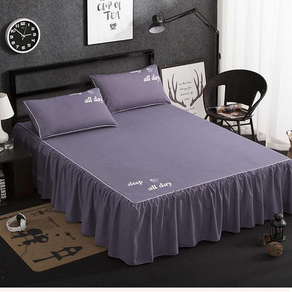 罩床裙床套單件韓式公主床單全棉純棉床包雙人5*6/6*6尺床包組·樂享生活館