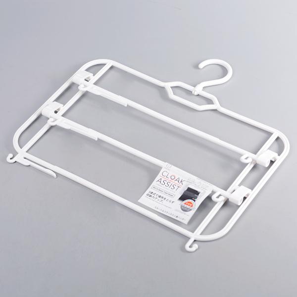 日本製【Kokubo】CLOAK 純白3連式裙架 /KL-105