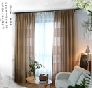 窗紗 現代純色白色新中式古典窗紗窗簾布料遮光遮陽飄窗 【全館免運】