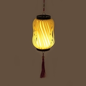 7.5x18cm 長型創意燈籠-黃